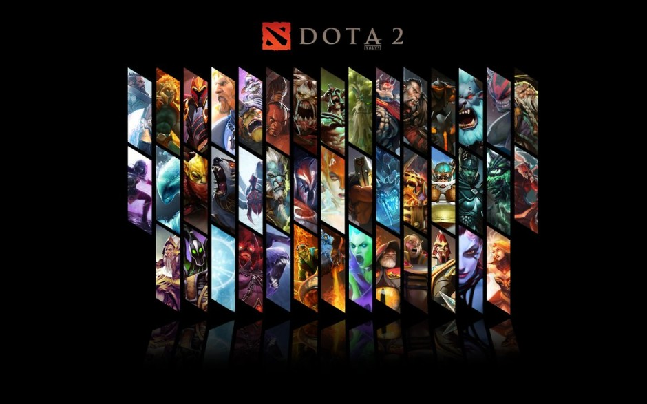 dota2 wallpaper all heros