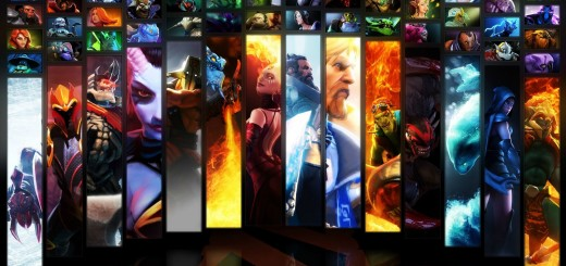 dota2 wallpaper all heros