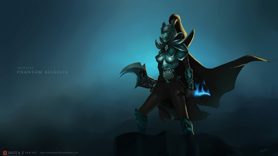 Phantom assassin dota2 – Dota 2 wallpaper