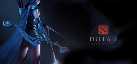 Dota 2 Drow Ranger wallpaper
