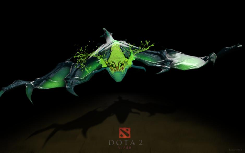 Dota-2-Viper-Wallpapers