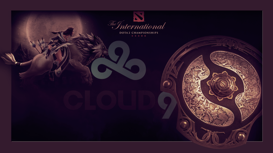 Cloud 9 HyperX Dota 2 The International Wallpapers