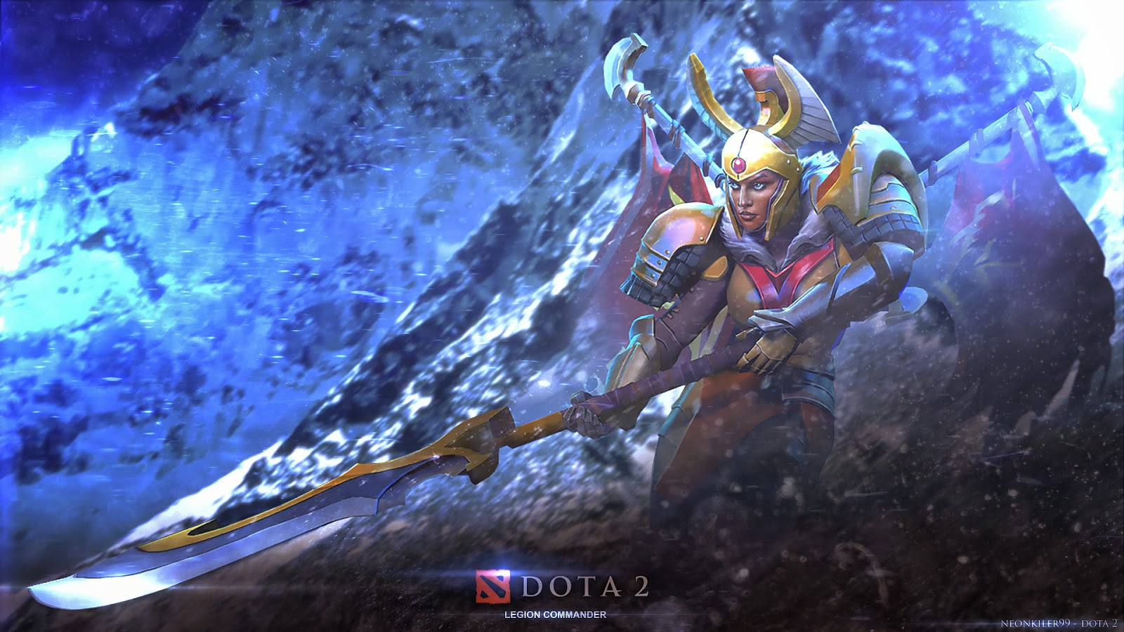 Legion Commander Dota  Wallpaper
